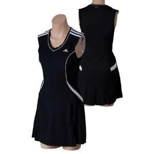 adidas Classic Basic Dress Womens   Black/White Extra