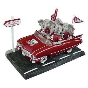 Alabama Crimson Tide Road Trip Mascot Figurine Memorabilia