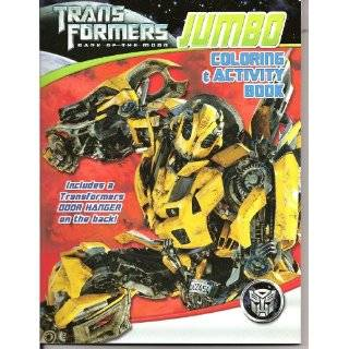 Transformers Dark of the Moon Jumbo Coloring and Activity Book Toys
