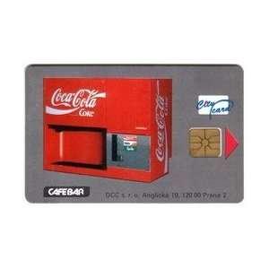 75Kc Coca Cola Coke Vending Machine. City Card Sirius #CZ CC 3 Mint