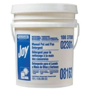 02301 Joy Lemon Scent 5 Gal Pail Man. Pot Pan Detrgnt