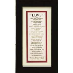 Love   Beautiful Wall Decorative Framed Art