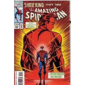THE AMAZING SPIDER MAN, VOL 1 #392 (COMIC BOOK) SHRIEKING, PART THREE