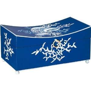 Blue Villa Curved Box:  Home & Kitchen