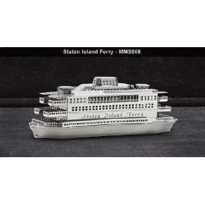 Metal Marvels Staten Island Ferry 3D Laser Cut Model : Toys & Games