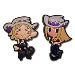 Soul Eater: Patti and Liz Thompson Sisters (Set of 2) Pins