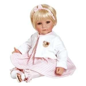 Adora Baby Doll 20 Bear Necessities (Light Blond/Blue Eyes) : Toys