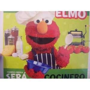 de Elmo Libro del Rompecabezas ~ Cocinero (Puzzle Book) Toys & Games