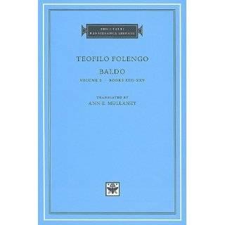 Baldo, Volume 1 Books I XII (I Tatti Renaissance Library