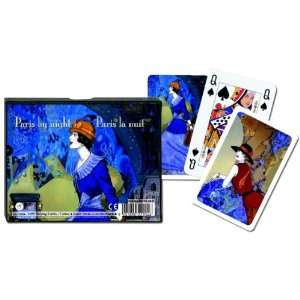Paris by Night   Double Deck Playing Cards Toys & Games