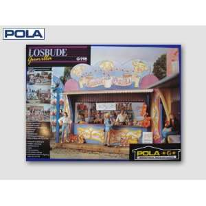 GUNILLAS LOTTERY CARNIVAL STAND   POLA G SCALE MODEL TRAIN BUILDING