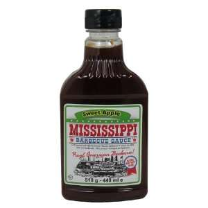 Mississippi Sweet Apple Barbecue Sauce   18oz Bottles   6 Pack