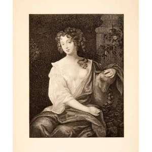 1900 Photogravure Nell Gwynn Actress Mistress King Charles