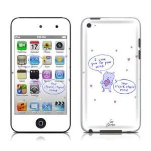 I Love You Design Protector Skin Decal Sticker for Apple