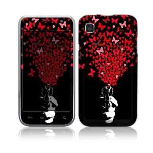 Samsung Galaxy S 4G Decal Skin Sticker   The Love Gun Everything Else