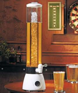 128 oz Cold Beverage Drink Tower Beer Bar Tap Dispenser