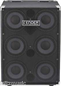 Fender 610 Pro Bass Guitar Speaker Cabinet Cab Cast Frame New in Box