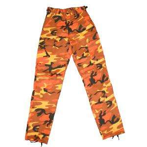 ULTRA FORCE& ORANGE CAMO BDU PANTS   SoldierCity