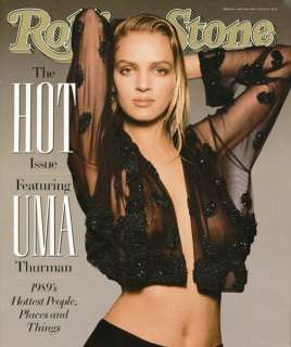 Rolling Stone Cover of Uma Thurman Rolling Stone Cover by Matthew