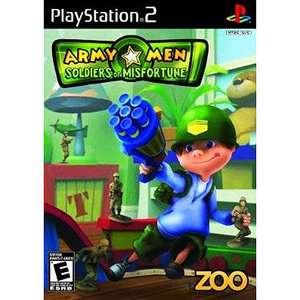 Army Men Soldiers of Misfortune (PS2) Unassigned Video