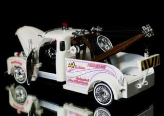 1953 Chevy Tow Truck Jada STREET LOW Diecast 124 Scale   White |