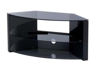 High Quality Corner TV Stand for Flat Panel TVs High Gloss Black
