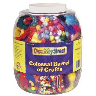 Chenille Kraft Company Colossal Barrel of Crafts Crafts
