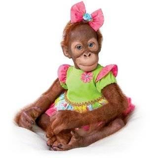 Baby Babu 16 Collectible Orangutan Baby Doll by Ashton Drake