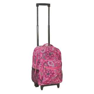 Rockland 17 Rolling Backpack Bags