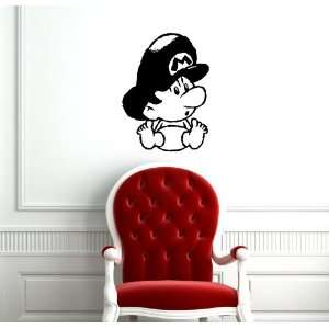 Mario Baby Kids Room Nursery Wall Vinyl Sticker Decals Art Mural D1021