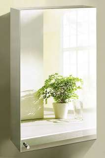 304 Stainless Steel Large Wall Mirror Bathroom Cabinet