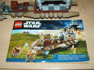 Star Wars LEGO BATTLE DROID CARRIER Vehicle Naboo 7929