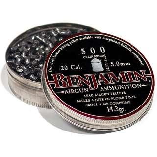 Crosman Benjamin .20 Caliber Cylindrical Lead Air Rifle Pelles