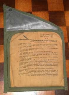 Vintage Military Surplus Chemical Heat Bag Hand Warmers
