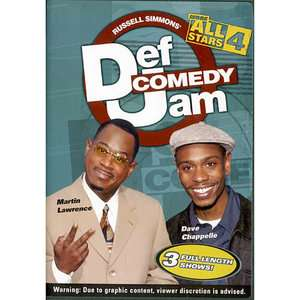 Def Comedy Jam More All Stars, Volume 4 (Full Frame) Movies