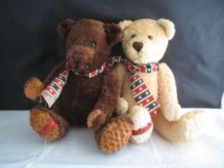 Cute Dan Dee Collectors Choice Bear Stuffed Animal Pair
