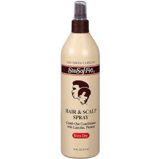 Carson Sta Sof Fro Extra Dry Hair & Scalp Spray, 16 oz: Hair Care