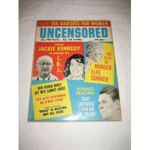 LBJ Elke Sommer Ronald Reagan: Inc. Nutrend Publications: Books