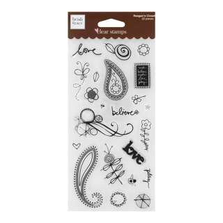 Fiskars Heidi Grace Designs Assorted Craft Clear Stamps 020335030763