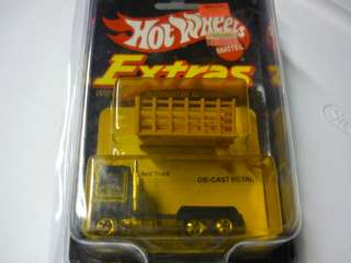 HOT WHEELS EXTRAS FORD STAKE BED TRUCK