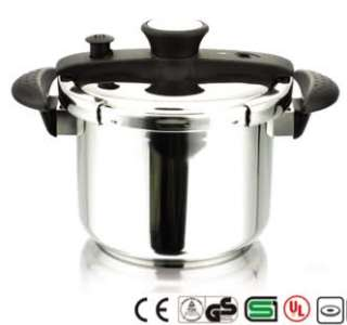 CONCORD Stainless Steel 8 QT Pressure Cooker. Heavy Pot