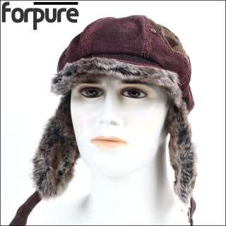 Military Army hat hats cap Vintage distressed ear flap hat von21