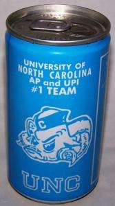 Michael Jordan UNC North Carolina Tar Heels Championship 1982 Soda