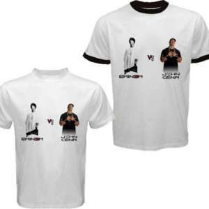 Eminem Vs John Cena Rap New T Shirt S M L XL XXL XXXL