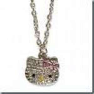HELLO KITTY CRYSTAL CHARM NECKLACE Toys & Games