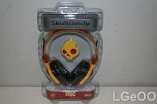 New Skullcandy Agent NCAA Series On Ear Stereo Headphones S6AGDZ 150