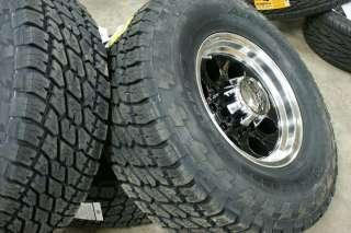 285/75 16 ION Chevy GMC 1500 Rims Nitto Terra Tires