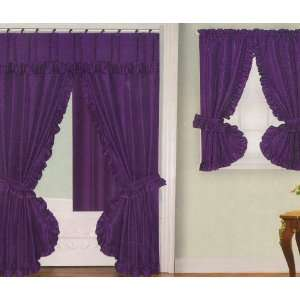 Palais Grommet Top Curtain Panel Mulberry Shower Curtain