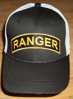 ARMY RANGER SPECIAL FORCES TRUCKER MESH CAP HAT OS