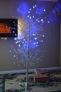 FT Outdoor Pre Lit Christmas Tree 200 Branch Tips Clear Lights